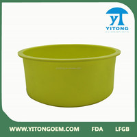 Jiangmen OEM factory High quality large silicone pizza pan