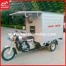 Hot Sale Cargo Tricycle with Cabin/Three Wheel Gas Scooters/Bicycle Rickshaw Price
