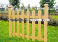 cheap plastic veranda wood composite fencing
