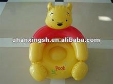 2012 حار عملية بيع 6P البلاستيكية نفخ أريكة للأطفال
