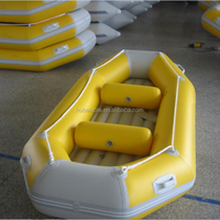 2 people used fishing inflatable boat
