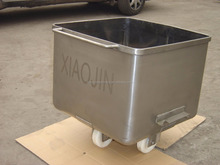 Stainless steel meat cart
