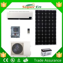 air conditioning solar car, cooling&heating 48V 12000BTU 100% DC price for solar air conditioner