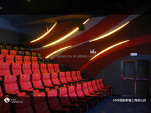acoustical curtains and led lights for cinemas, theatres, conference rooms etc