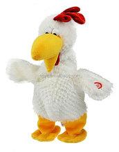 custom wind up toys lovely singing chicken