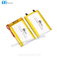 High quality 384462 rechargeable lipo battery 3.7v 1020mah for digital
