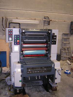 Maquinaria de impresión