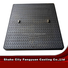 competive price for cast iron manhole cover and composite manhole cover 300*300*25mm