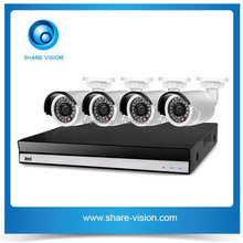 2015 hot 4ch 720p/960p poe outdoor bullet h.264 nvr kits