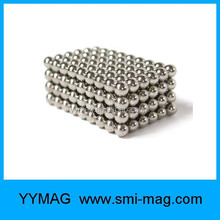 5mm Nickel coating 216pcs/set neodymium magnet