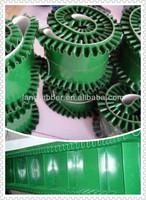 polyester corrugated sidewall conveyor belt raised edge conveyor belt