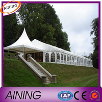0.55mm PVC Coated Tarpaulin For Awning / Covering / Tent Material