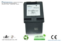remanufactured ink cartridge for HP 60 60xl