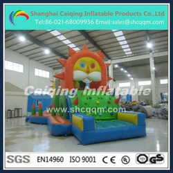 cheap inflatable sun theme obstacle course for kids