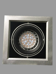 Commercial ar111 led ceiling light meanwell driver 30w dimmable led grilled light UL SAA approved from rise lighting-chanel