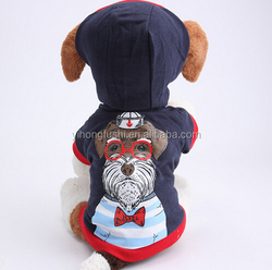 dog customized printing clothes,cozy fabric dog new styles wonderful clothes suit