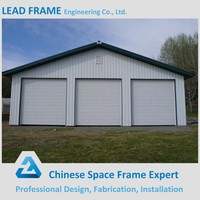 Cheap prefab garage system steel structure for car parking