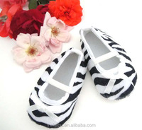 Hot sale zebra shoe newborn shoes baby turkish shoes in stock