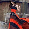 la última de las señoras sin mangas banda diseños casuales de vestir sa1291113