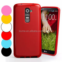 New Grip Gel TPU Case Cover For LG G2 D802 + Screen Protector