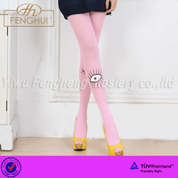 2015 Fashion personality eye eyelash 120D velvet pantyhose