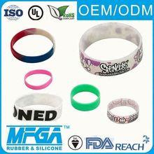 silicone sports bracelets balance wristband