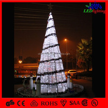 Multi-color commercial led durable christmas tree giant outdoor