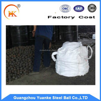 50mm high hardness hard alloy forged steel grinding balls(ISO9001;YB/T091-2005)