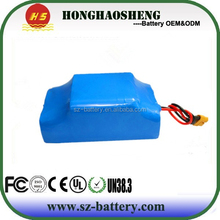 18650 rechargeable ion pack 36v 4.4ah 10S2P lithium battery pack toy car electric scooter battery