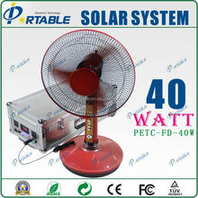Fashionable elegance portable 40W home solar system india
