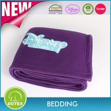 BSCI & SEDEX Certificated Factory wholesale custom design polar fleece blanket