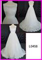L0458 encaje tul vestido de novia