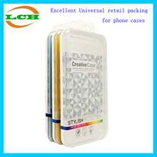 Universal Crystal box retail packing for moblie phone cases