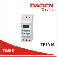 TP8A16 digital timer weekly programmable with pulse 1--59m59s