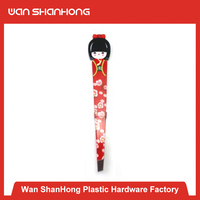 Contemporary personalized rubber plastic eyebrow tweezers