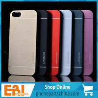 customized recycling mobile phone aluminum case for iphone 5 5s personality design durable