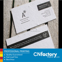 High Quality Colorful Art Paper Business Cards