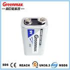 Super 6F22 9 V bateria bateria seca