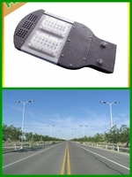 Hot solar panel high lumens auto timmer 12v dc led solar street light