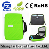 Factory wholesale EVA shock proof laptop leather sleeve for 11.6 inch