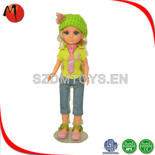 Hot sell 2015 new products cute fashion dress up girl doll