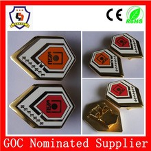 Zhejiang Huahui factory 10-year-experience specialized in metal craft, such as badge, pin, medal, buckle (HH-badge-634)
