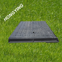 double seal square ductile cast iron manhole cover