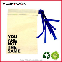 Hot Sale Promotion Nice-Looking Canvas Bag White Pouch Coin Bag