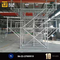 BS 1139 galvanized used scaffolding system for sale