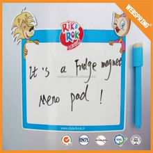 Funny writing board innocuous magnetic boards & mark pen