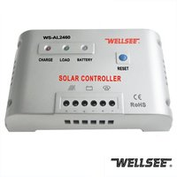 Wholesale smart solar charge controller 48 volt 24 volt 60A AL2460 microprocessor controlled voltage stabilizer