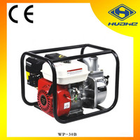 OHV gasoline powered portable centrifugal water pump, 3 inch gasoline water pump for car wash
