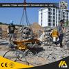 concrete road cutter KP500S, hydraulic pile breaker