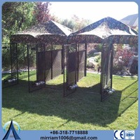 Low price or galvanized comfortable 5ft dog kennel cage